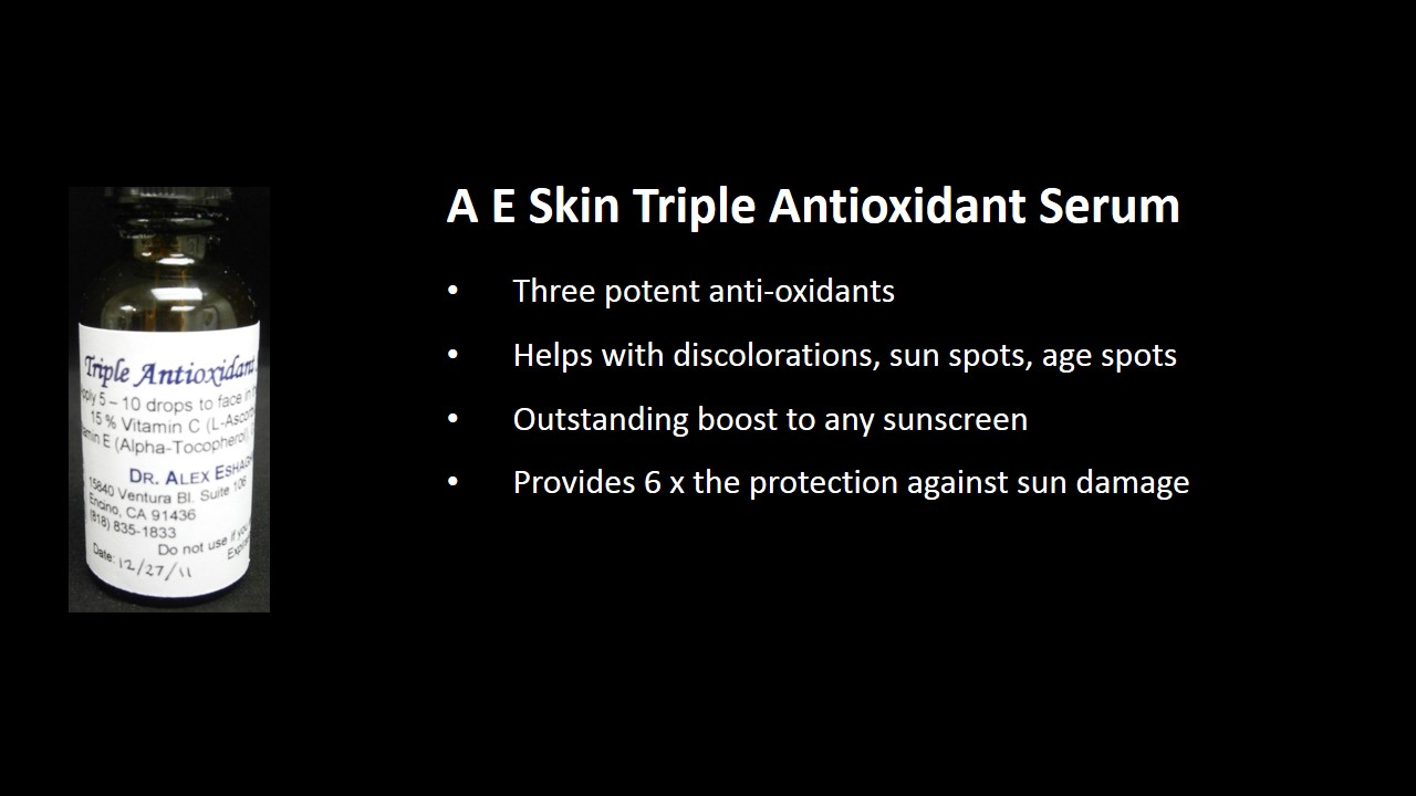 A E Skin Triple Antioxidant Serum