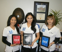 AE Skin Medical Spa Staff Awards